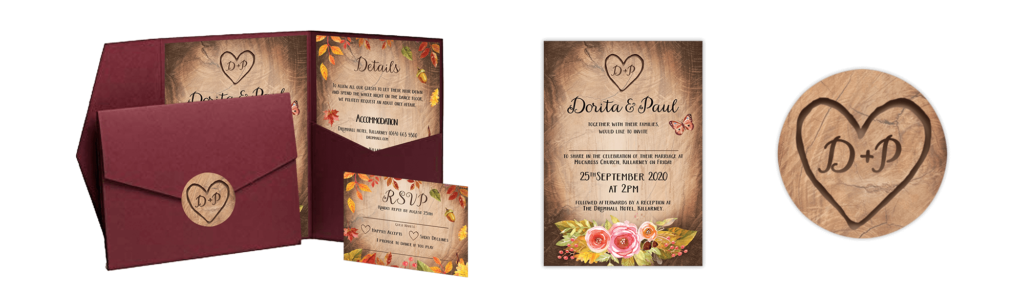 Dorita and Pauls invites